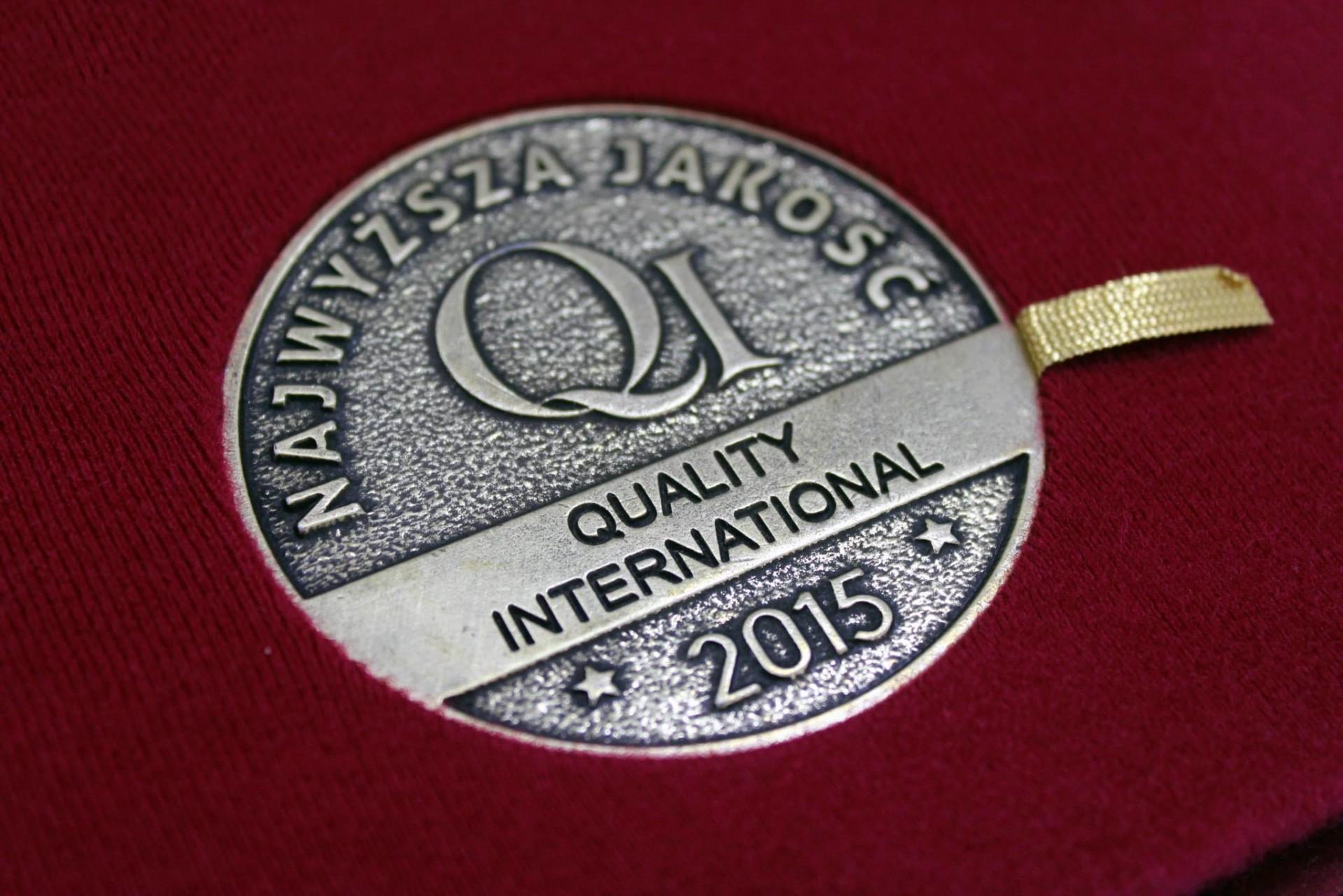 Quality International 2015 Award
