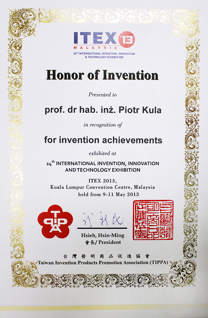 Honor of innovation